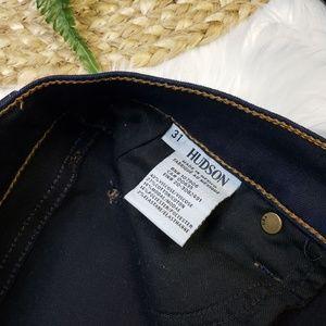 Hudson Jeans Jeans - Hudson Krista Super Skinny Jeans Delilah Dark Wash